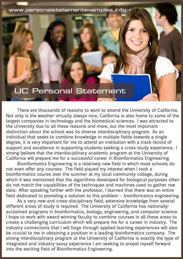 our uc personal statement examples